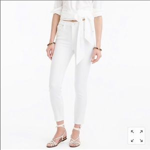 J.Crew Lookout High Rise Crop size: 25